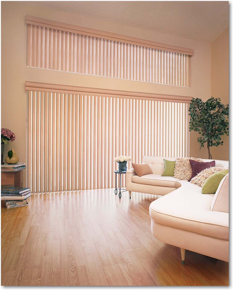 Vertical Blinds Curtains Dubai